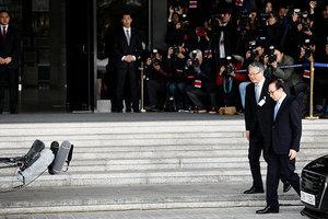 南韓前總統李明博涉貪被傳喚:願到我為止