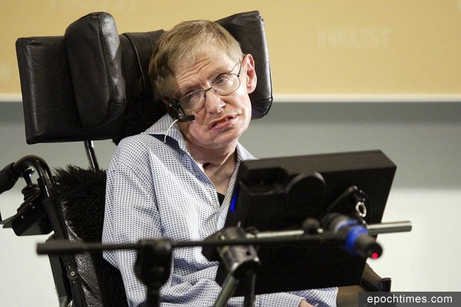 霍金博士逝世,享年76歲。(網絡圖片)