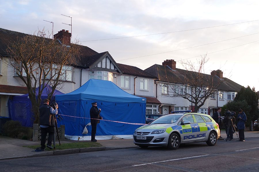 一名在英國流亡的俄羅斯商人尼古拉・格盧什科夫(Nikolai Glushkov)被發現死在倫敦寓所。(AFP PHOTO / Will EDWARDS)