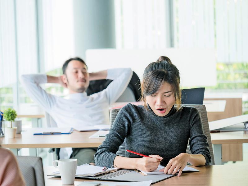四招應對上班族 午睡綜合症