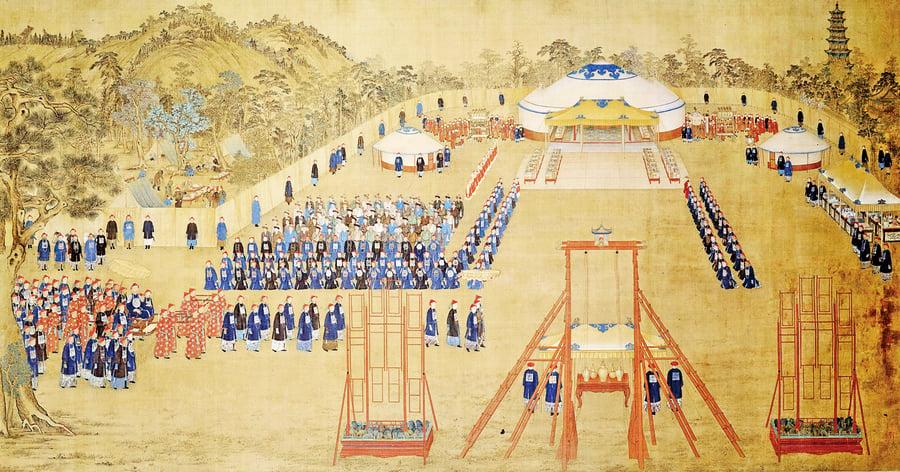 大清皇帝怎麼過年
