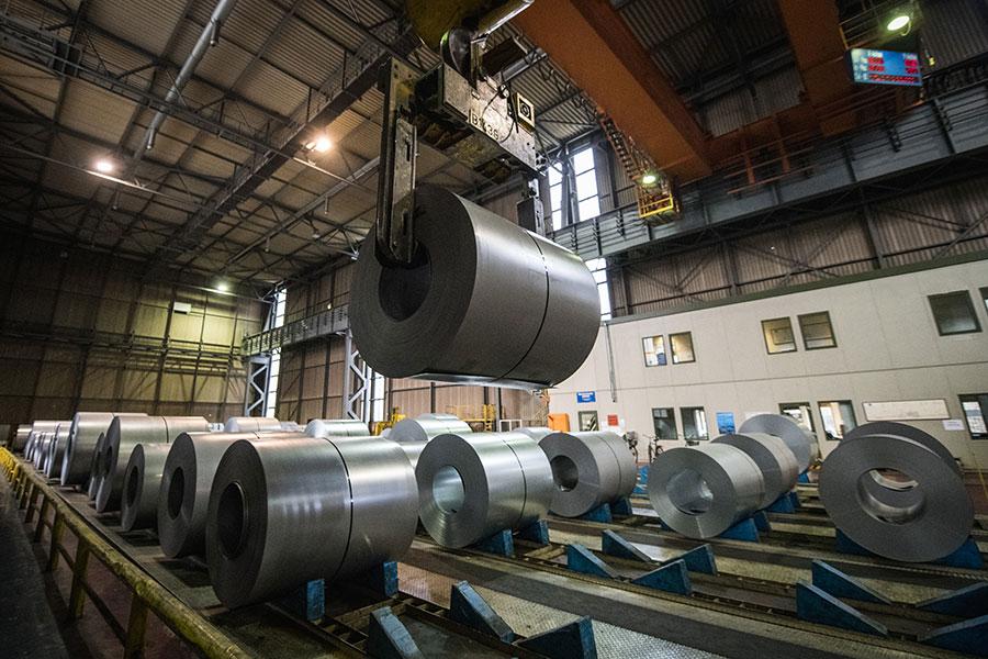 美國特朗普政府決定自6月1日凌晨零時開始,不再豁免歐盟、加拿大及墨西哥鋼鋁稅。(Lukas Schulze/Getty Images)