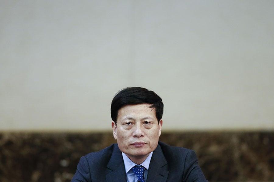 擁有中共全國政協、人大代表「雙重身份」的中共河南省委書記謝伏瞻,意外未「當選」中共政協副主席。(Lintao Zhang/Getty Images)