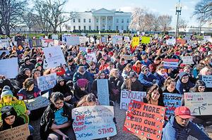 特朗普歡迎眾議院通過停止槍枝暴力法案