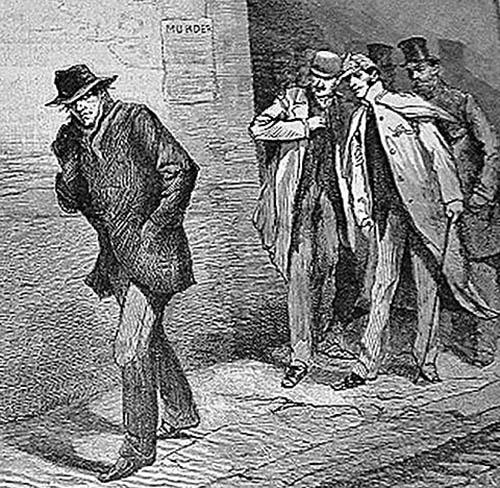 當時媒體The Illustrated London News對謀殺案件的報道。(維基百科)