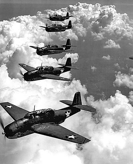 美國19飛行隊飛航訓練照。(美國海軍/維基百科)