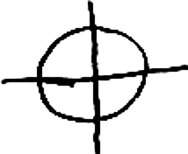 殺手使用的符號,包括他的信件上都使用。(維基百科)