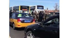 北京發生突發事件 大批軍警長安街抓人