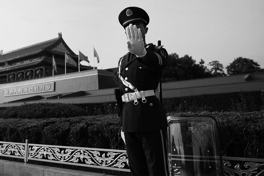 北京到處是截訪人 訪民怒諷:太造假了