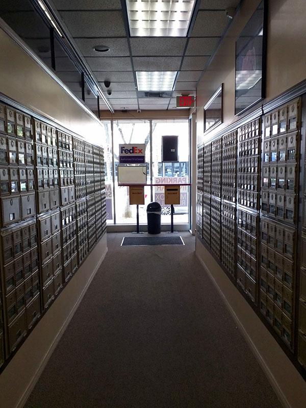 全美電視台的註冊地址僅是一個郵箱。(徐綉惠/大紀元)