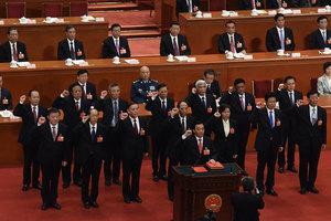 人代會憲法宣誓 紅二代:中共從不遵守憲法