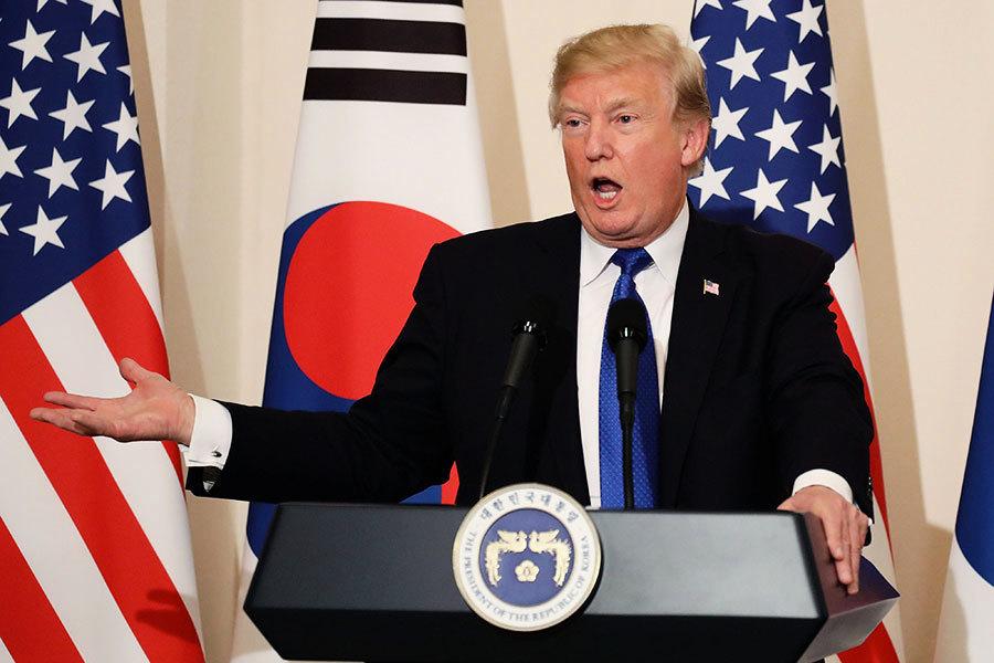 特朗普仍打算跟金正恩會晤 籲北韓走正確道路