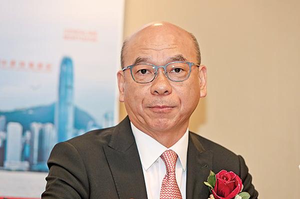 中原地產亞太區副主席兼住宅部總裁陳永傑。(大紀元資料室)