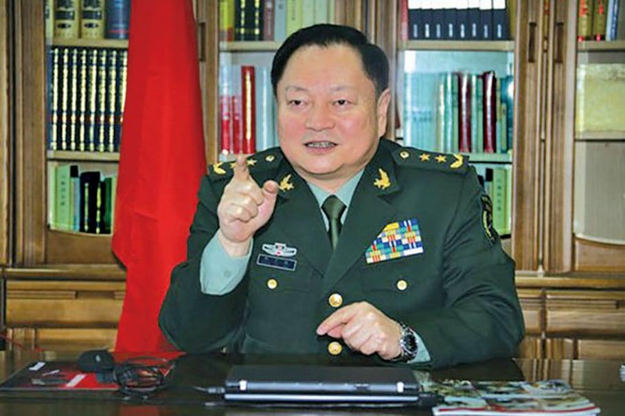 中共軍委副主席張又俠。(網絡圖片)