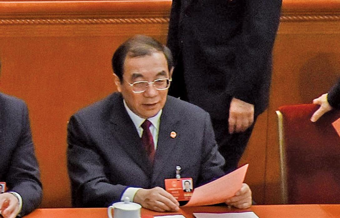 3月18日,根據中共人大主席團提名,國家監察委員會主任候選人為楊曉渡,並獲通過。(Getty Images)