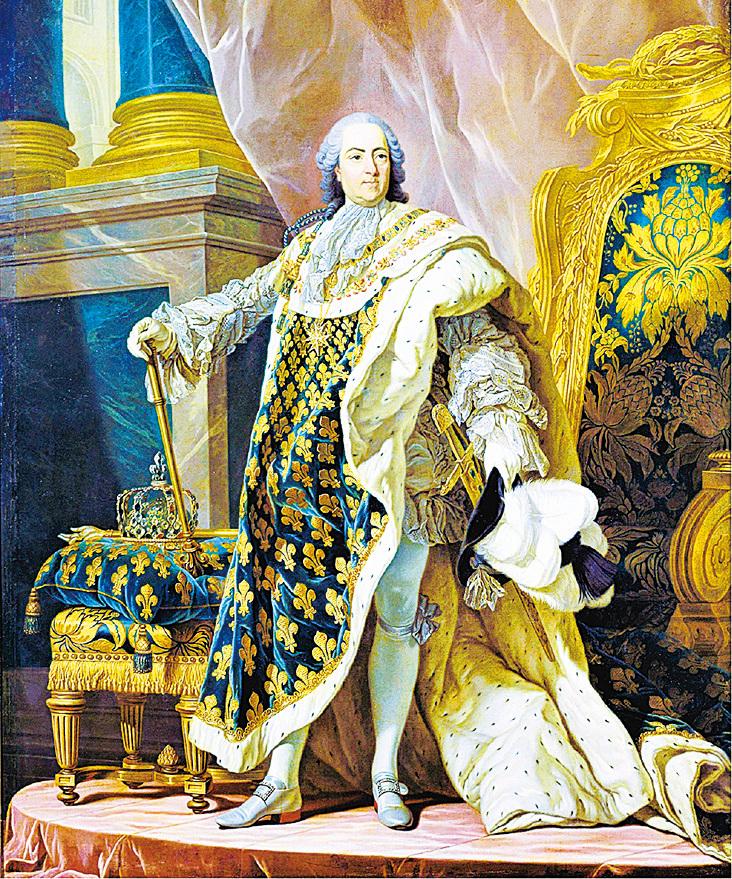 法國和納瓦爾國王路易十五。