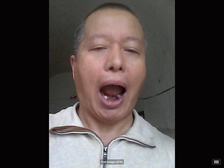 中國維權律師高智晟遭中共關押,受到慘無人道的迫害。(影片截圖)