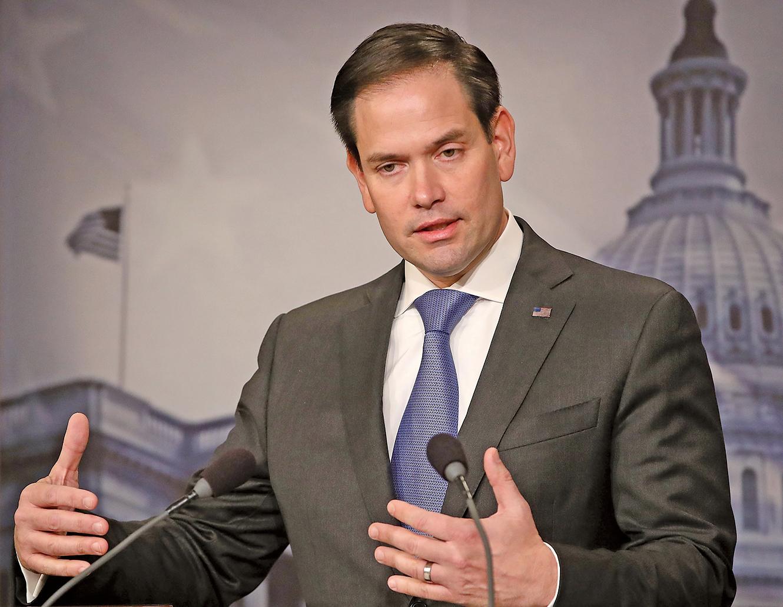 CECC主席魯比奧(Marco Rubio)在聲明中表示,CECC的任務之一是記錄中國政治犯的案件——這些人是因為行使公民、宗教和政治權利而被中共拘留或監禁的。(Getty Images)