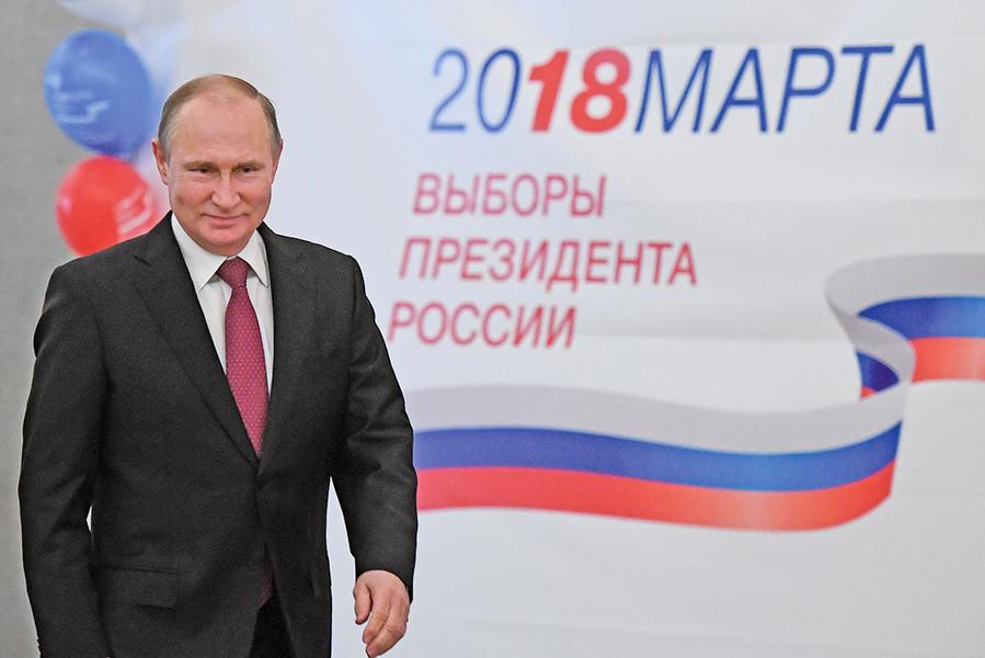普京贏俄羅斯大選得票約76.67%
