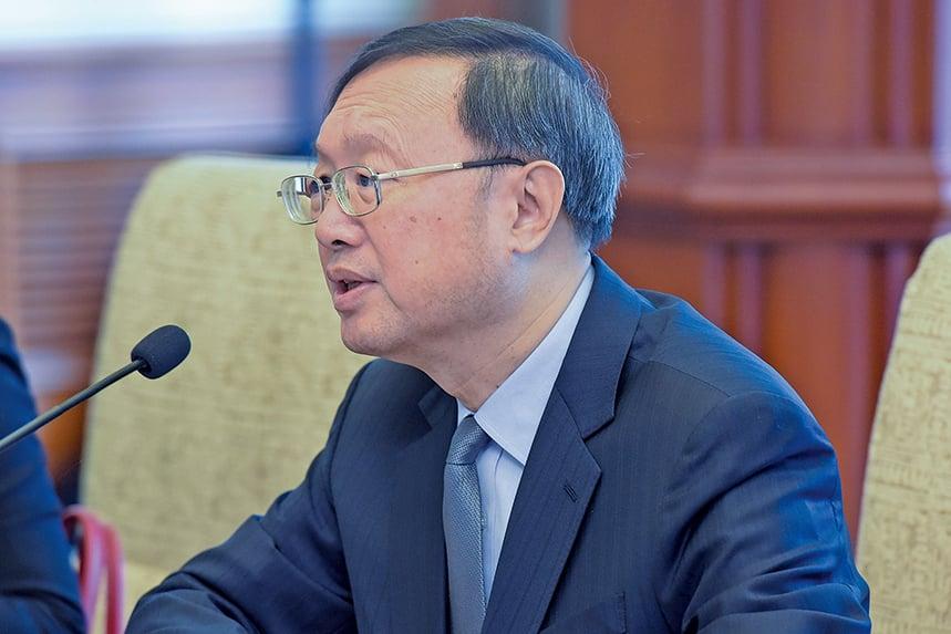 前國務委員楊潔篪沒有出現在新內閣名單上。(Getty Images)