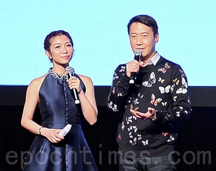 黎明再次擔任香港影視娛樂大使。(宋碧龍/大紀元)