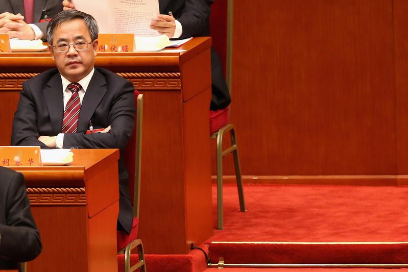 一度被認為是「隔代接班人」的胡春華雖然出任國務院副總理,但被認為政治舞台縮小。(Getty Images)