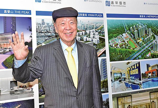 嘉華國際主席呂志和指,年輕人若收入可以負擔,可以買樓自住,但炒賣就無謂。(郭威利/大紀元)