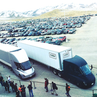特斯拉電動卡車Semi首次送貨 正一步步改變長途運輸產業