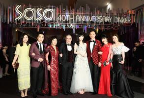 化粧品集團代言人周慧敏出席周年盛宴 與眾藝人名人延續美麗人生精神