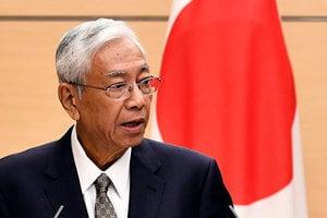 「想休息一下」 緬甸總統突然宣佈辭職