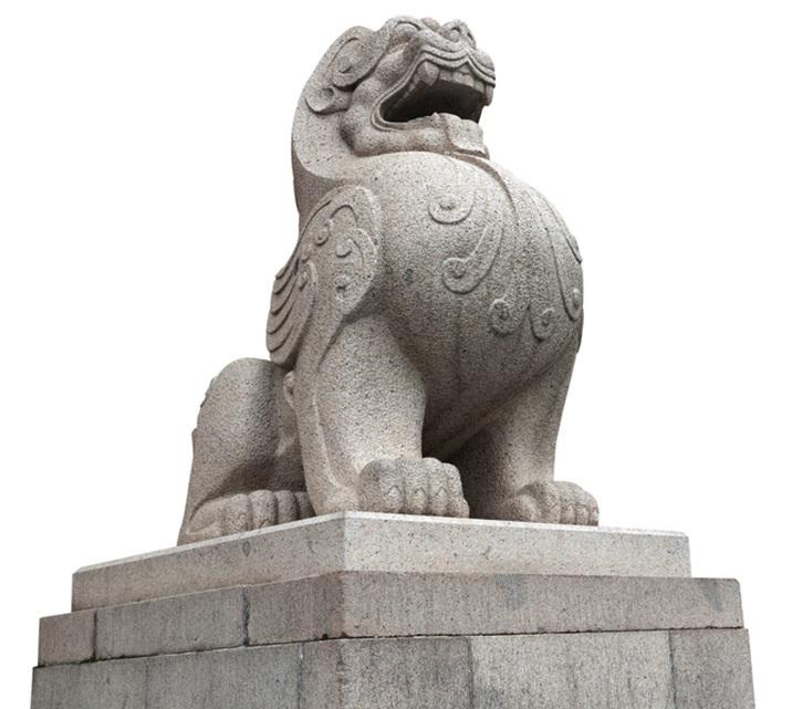 中國的石獅子(fotolia)