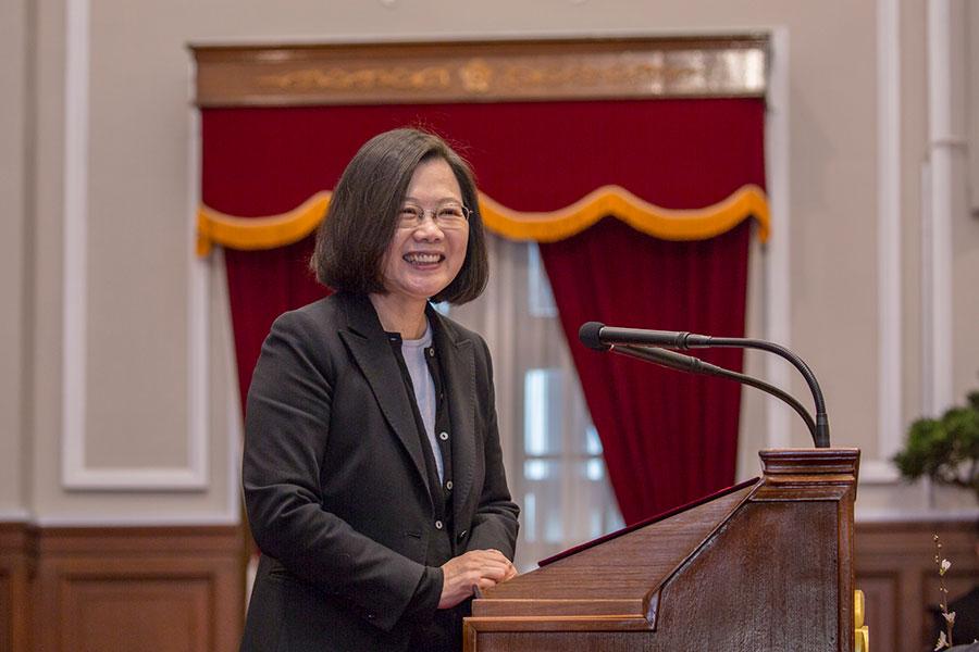 美國通過台灣旅行法,提升台灣的地位。總統蔡英文3月21日談到,這也是台灣自信心的重要支撐點,她感謝美國政府對台灣的支持以及對區域和平繁榮的努力。(台灣總統府提供)