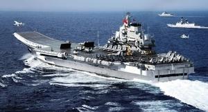中共遼寧號擾台 美國務院反對片面改變現狀