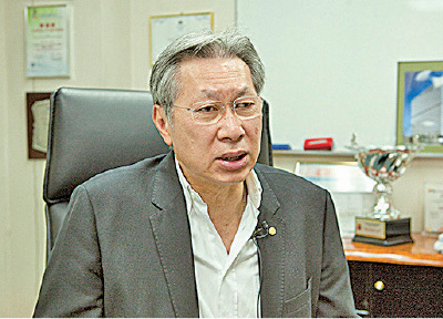 香港中小型企業聯合會永遠榮譽主席、東莞金邊金屬實業負責人劉達邦。(大紀元資料圖片)