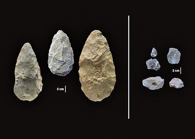 考古學家在非洲肯尼亞發現120萬年前的石器,引發科學家對文明起源的思考。(Human Origins Program, Smithsonian)