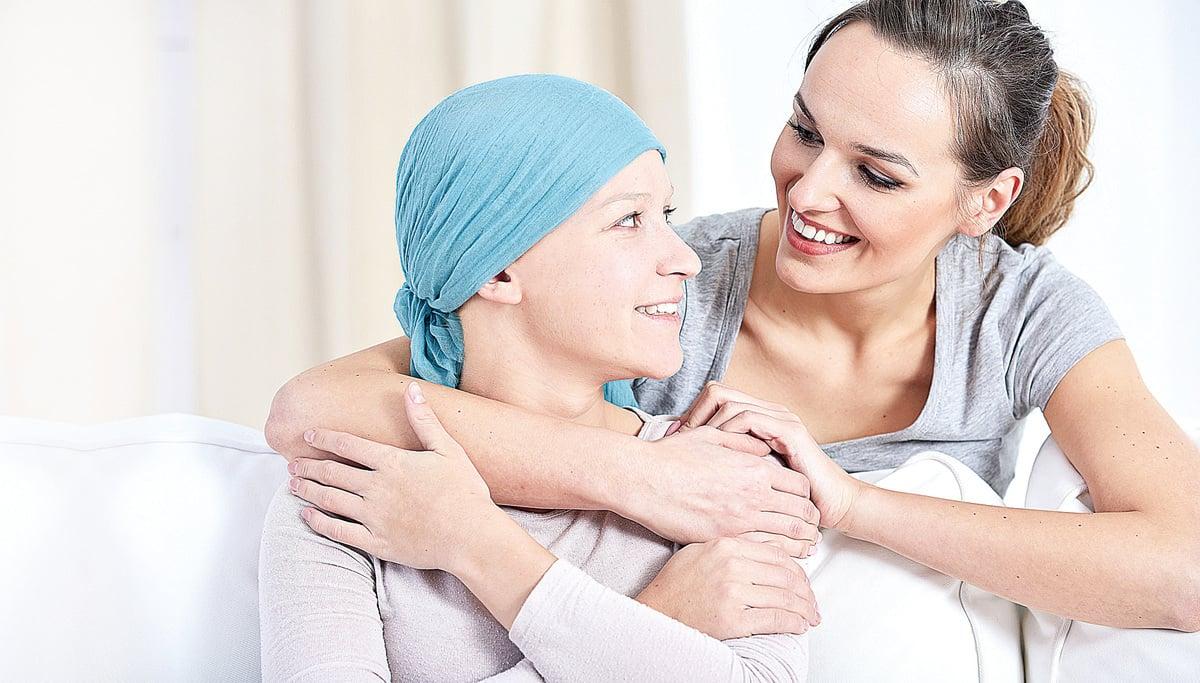 親朋的支持是病人最強的後盾。