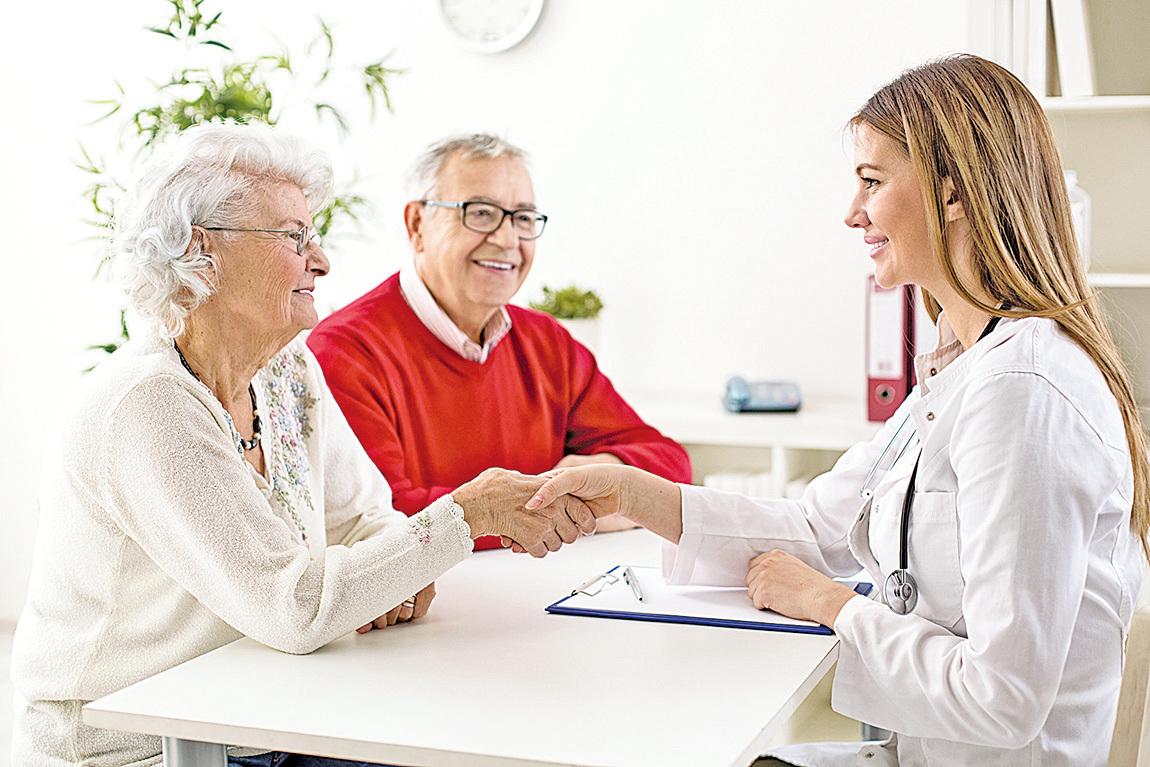 醫生和病人溝通良好、互相信任,會對病人的治療有利。