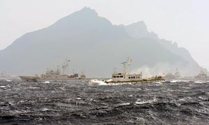 中國大陸海警船再駛入釣魚台海域