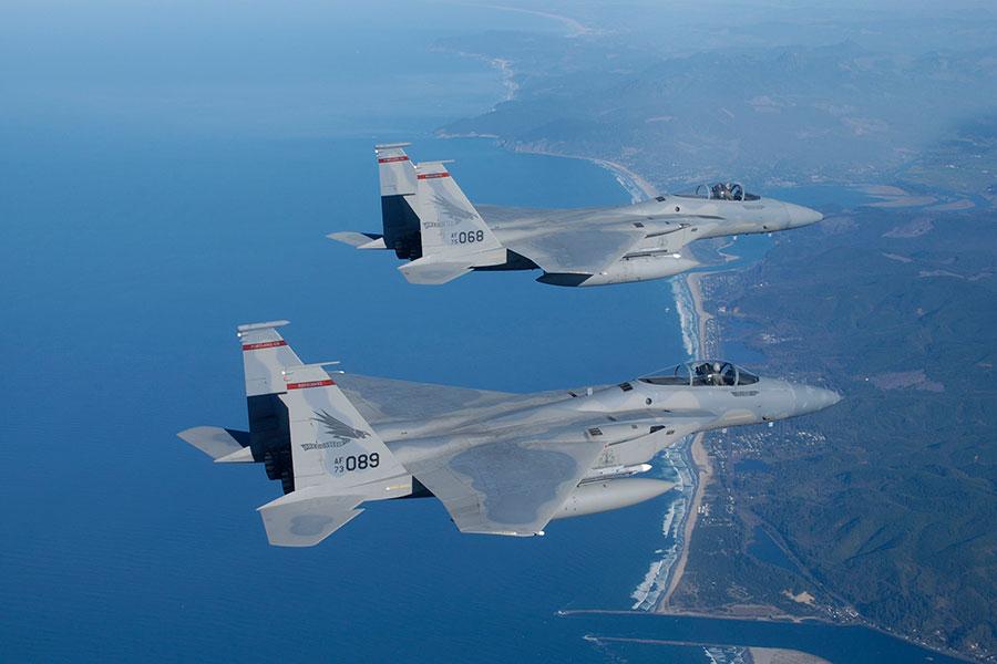 F-15鷹式戰鬥機。(維基百科公有領域)