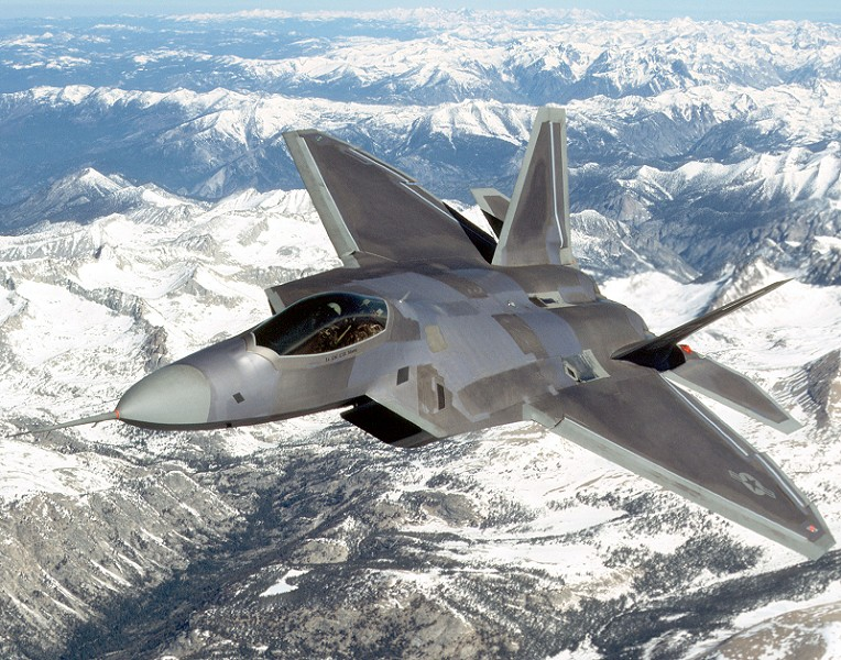 F-22戰機。(Getty Images)