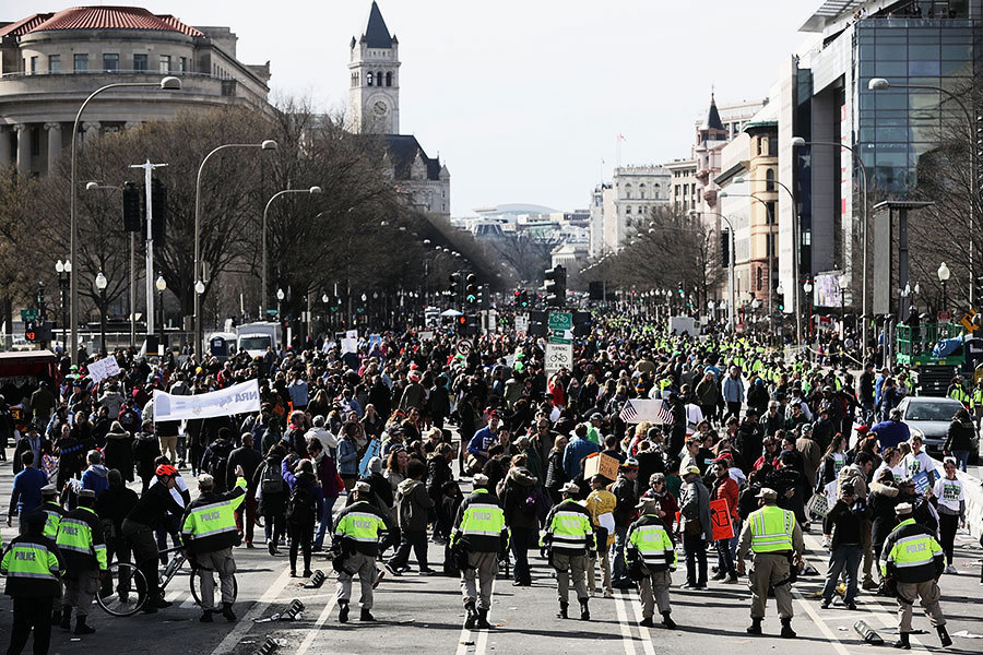華府50萬人「為生命而走」全球800城市聲援