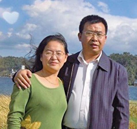 709律師江天勇和妻子金變玲。(網絡圖片)