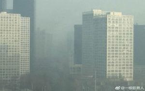 陰霾再襲北京 3月發佈兩次重污染橙色預警
