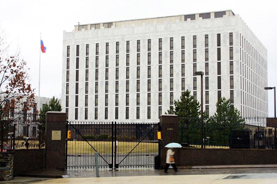 支持盟國行動 特朗普下令驅逐60名俄外交官