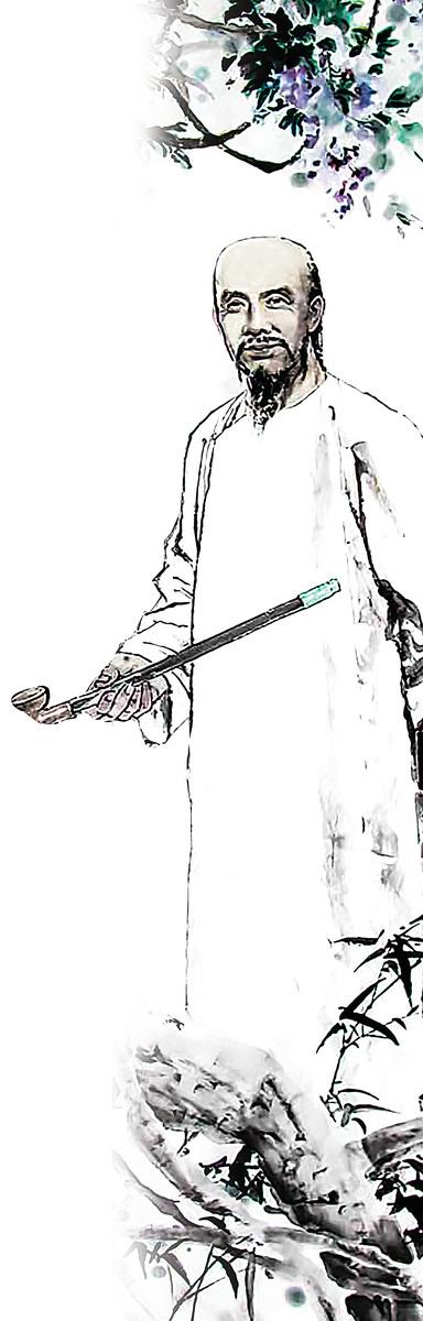 紀昀字曉嵐,諡號文達。在文學作品中,常被稱為紀曉嵐。(公有領域)