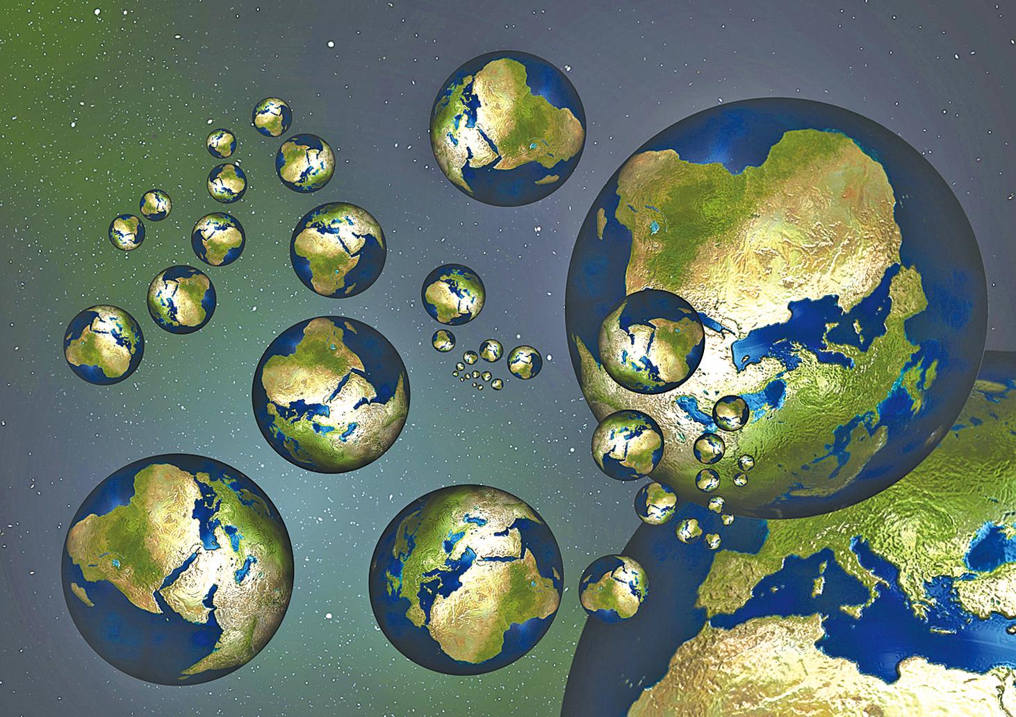 英國物理學家霍金(Stephen Hawking)在生前最後一篇論文中探討多重宇宙的存在。(Pixabay)