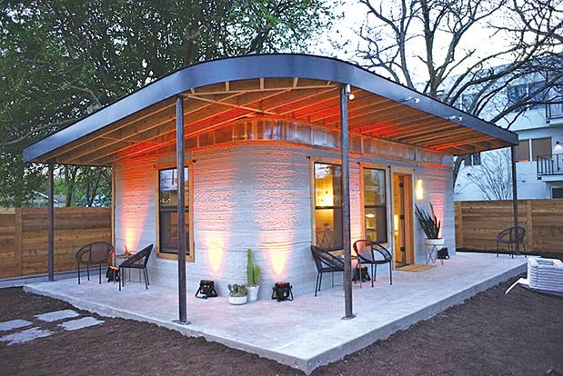 3D打印住宅可幫助十億無家可歸者