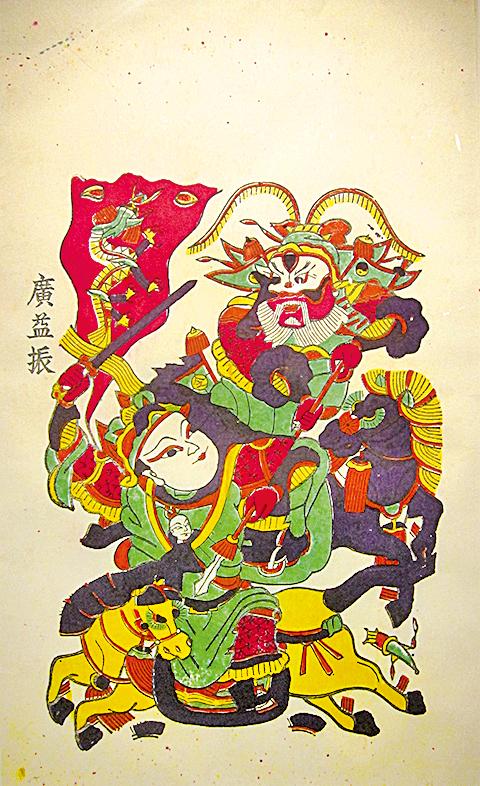 《趙雲救主》,讚藏河南博物院(翻攝:鍾元/大紀元)