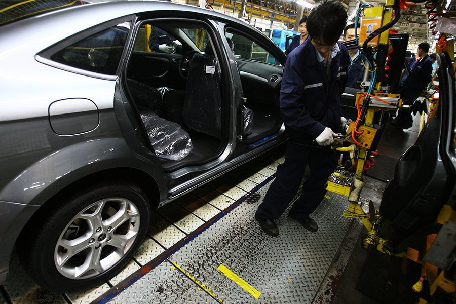 特朗普為在華美企爭自由 汽車行業率先受益