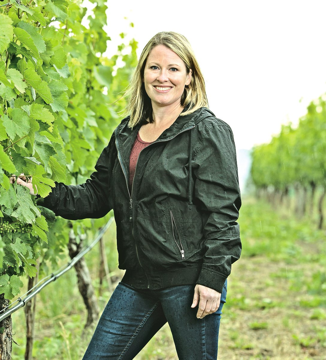 充滿才華與朝氣的少壯新一代女釀酒師 Alison Moyes。